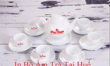 In bộ tách trà tại Huế, in gốm sứ quà tặng tại Huế