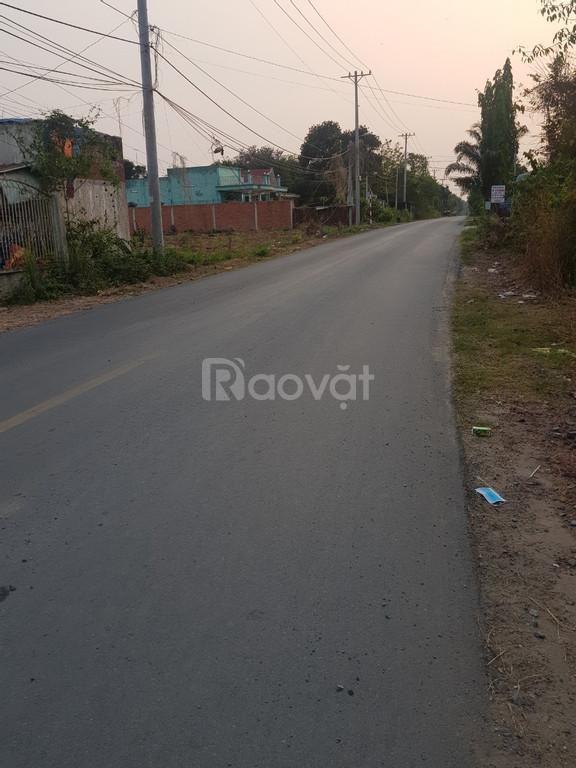 Bán đất Củ Chi 5x25 mặt tiền đường Bàu Lách xã Nhuận Đức Củ Chi