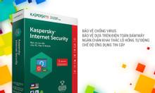 Cài phần mềm diệt virus Kaspersky bản quyền 1 năm cho laptop Acer