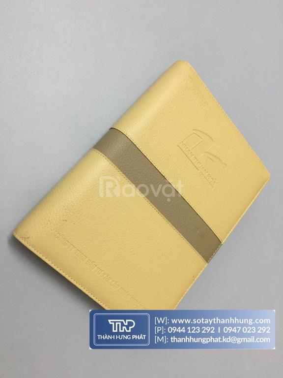 Cung cấp sổ tay bìa da giá rẻ   Đặt làm sổ tay bìa da tại tpHCM