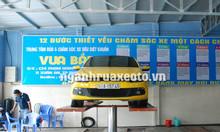 Cầu nâng 1 trụ rửa xe ô tô bảo hành chính hãng