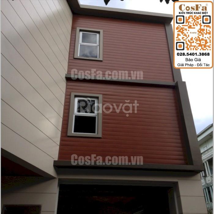 Mặt dựng alu facade CosFa 2019