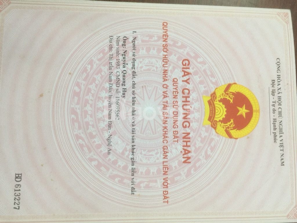 Bán đất Phường Song Khê, TP Bắc Giang