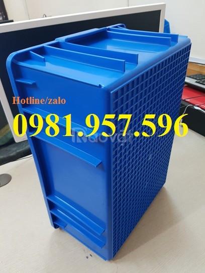 Khay nhựa B9, thùng nhựa đặc B9, thùng nhựa B9, khay nhựa linh kiện