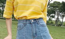 Shop thời trang bigsize HT-Fashion - Quần sooc jean cho người béo mập