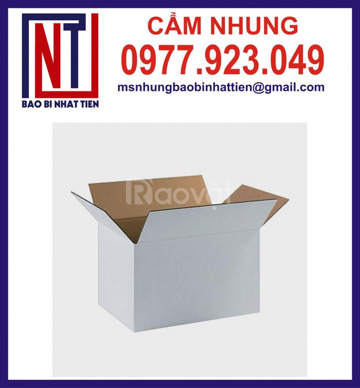 Sản xuất thùng carton trơn không in