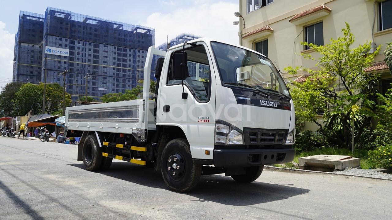 Bán xe tải Isuzu 1.4 tấn – 1T9 – 2.4T thùng dài 3.6m Euro4