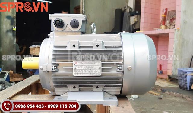 Bán mô tơ động cơ điện Enertech ESA100L2-4 3 pha công suất 4 Hp