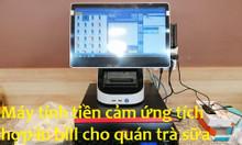 Thanh lý máy tính tiền kết hợp in bill cho quán trà sữa tại quận 9