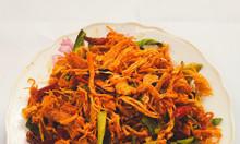Chuyên chà bông heo và khô gà lá chanh loại ngon (không bán hàng trộn)