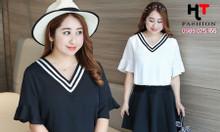 Shop thời trang bigsize HT-Fashion - Áo sơ mi công sở nữ big size