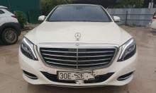 Bán Mercedes S 500 sản xuất 2015 màu trắng, cá nhân