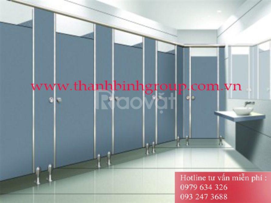Vách ngăn nhà vệ sinh, vách vệ sinh compact HPL