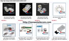 Hạt mạng RJ45/RJ11 Cat6-Cat5-Cat3 CM/ AMP sỉ lẻ, cung cấp dự án giá rẻ