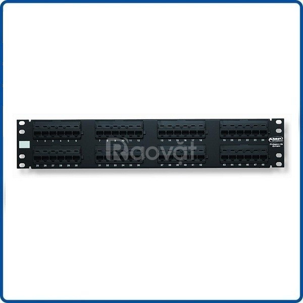 Tổng phân phối Thanh đấu nối patch panel cat5/cat6/cat6A loại 24/48p