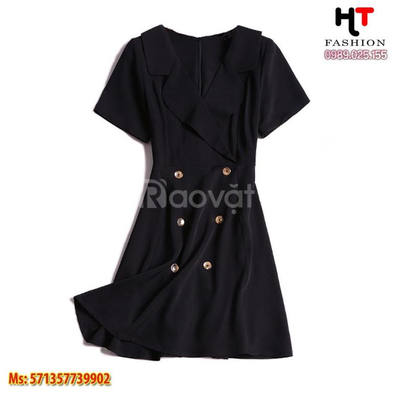 Cửa hàng thời trang bigsize HT-Fashion - Đầm công sở nữ big size