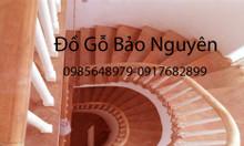 Bán tay vịn lan can cầu thang gỗ lim giá rẻ tại Tây Mỗ Nam Từ Liêm