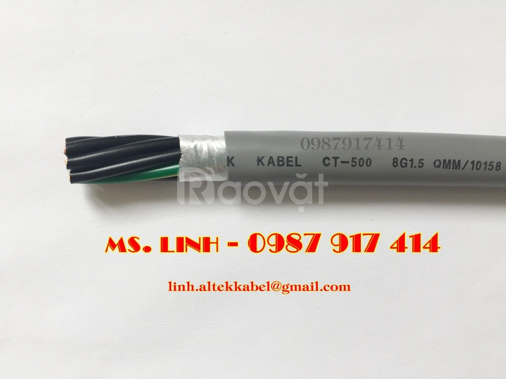 Cáp điều khiển có lưới chống nhiễu/ cáp điều khiển không lưới