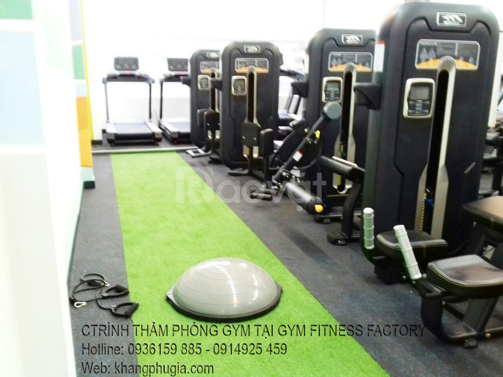 Thảm phòng gym giá rẻ