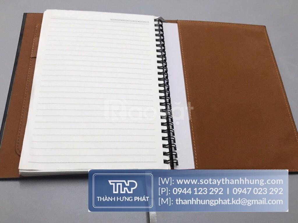 Xưởng sản xuất sổ da | Sản xuất sổ tay da | Sổ tay bìa còng giá rẻ