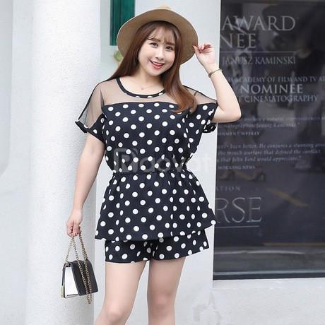 Địa chỉ bán quần áo bigsize HT-Fashion - Đồ bộ bigsize