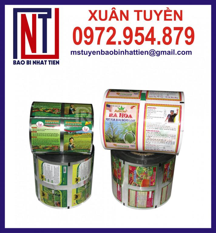 Bao bì ngành thực phẩm dạng cuộn
