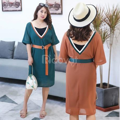 Váy đầm bigsize HT-Fashion - Shop váy đầm công sở big size