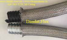 Ống thép mềm bọc nhựa pvc, ống luồn dây điện, Khớp nối mềm inox 304