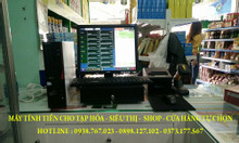 Lắp trọn bộ máy tính tiền cho shop tại An Giang