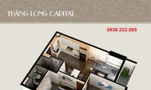 Chung cư Thăng Long CapitaL căn 2 PN 2 vệ sinh, giá 1.1 tỷ