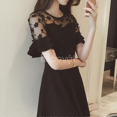 Địa chỉ bán quần áo bigsize HT-Fashion - Váy đầm xòe nữ bigsize