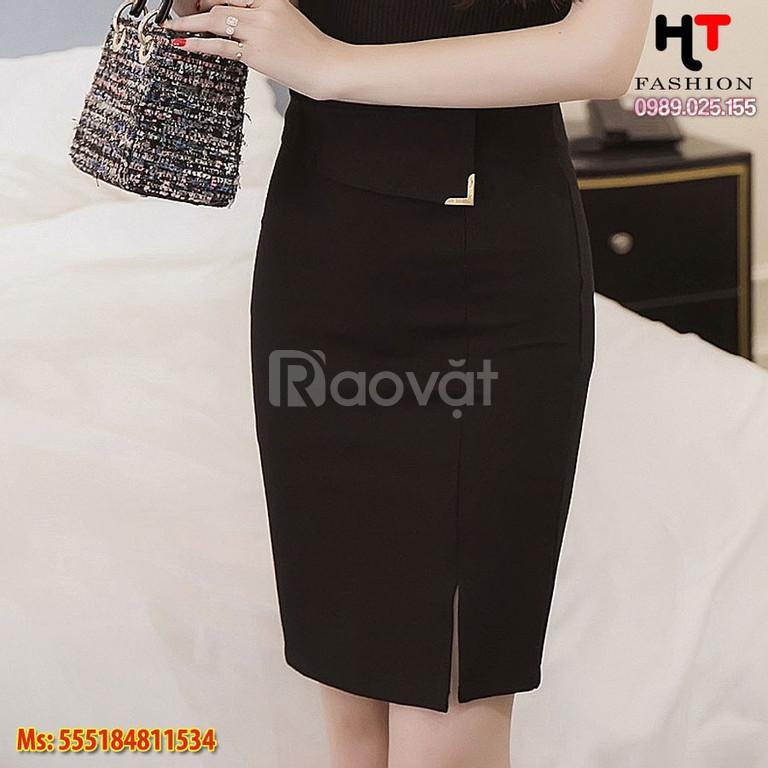 Cửa hàng thời trang bigsize HT-Fashion - Chân váy công sở nữ bigsize