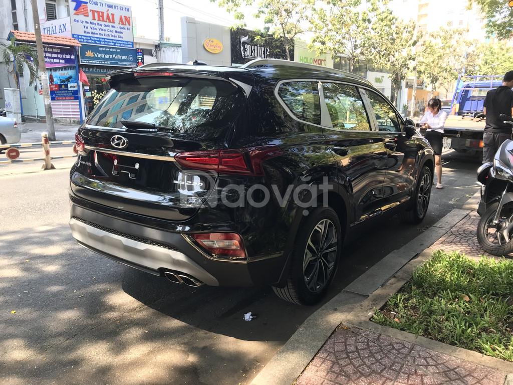 SantaFe 2019, xăng/dầu Đặc Biệt, màu Đen, Hyundai An Phú