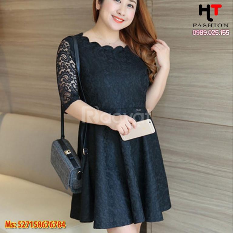 Shop quần áo bigsize công sở HT-Fashion - Váy đầm công sở nữ