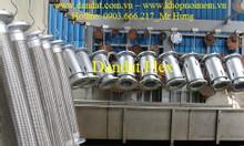 Khớp nối mềm 90, khớp nối giảm chấn, ống mềm inox 304 - 15.04.19