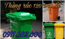 Cung cấp thùng rác 120 lít 240 lít giá rẻ tại cà mau