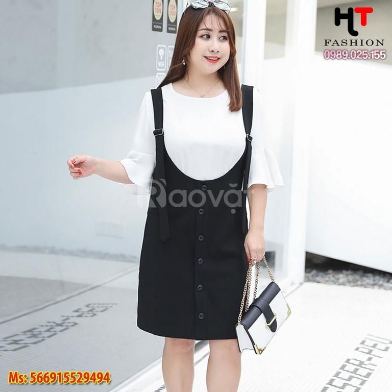 Quần áo bigsize HT-Fashion - Đồ bộ dành cho người béo lùn