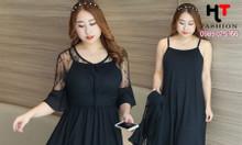 Cửa hàng thời trang bigsize HT-Fashion - Váy đầm trung niên bigsize