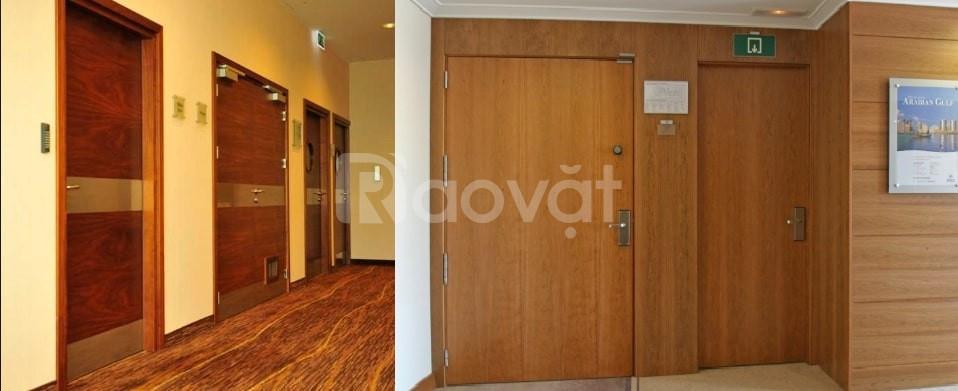 Những mẫu cửa gỗ chống cháy được người sử dụng đánh giá cao