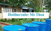 Thùng phuy sắt nắp kín đựng hóa chất 220 lít,thùng phuy nắp kín 220l.