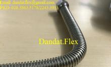 Ống cấp nước mềm inox 304, khớp nối mềm chống rung, dây dẫn nước inox