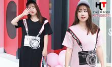 Thời trang bigsize HT-Fashion - Đầm thun bigsize giá rẻ