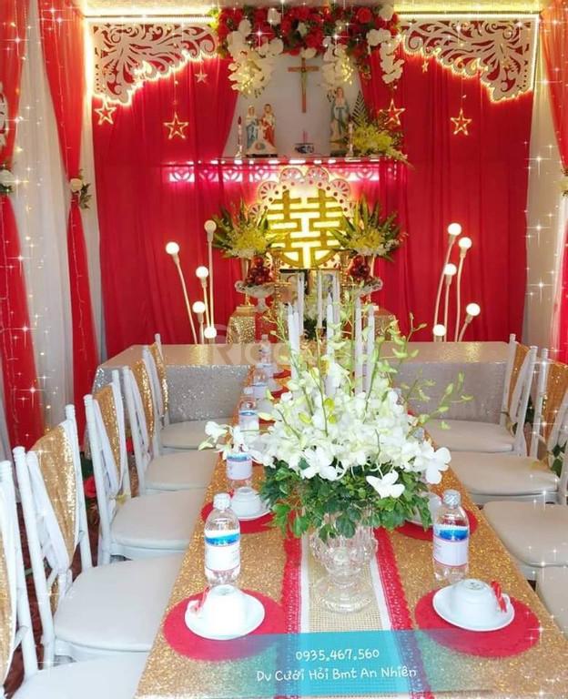 Trang trí lễ gia tiên tại BMT-An Nhiên Wedding