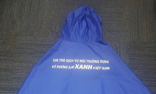 Xưởng sản xuất áo mưa vải dù chất lượng, áo mưa vải dù