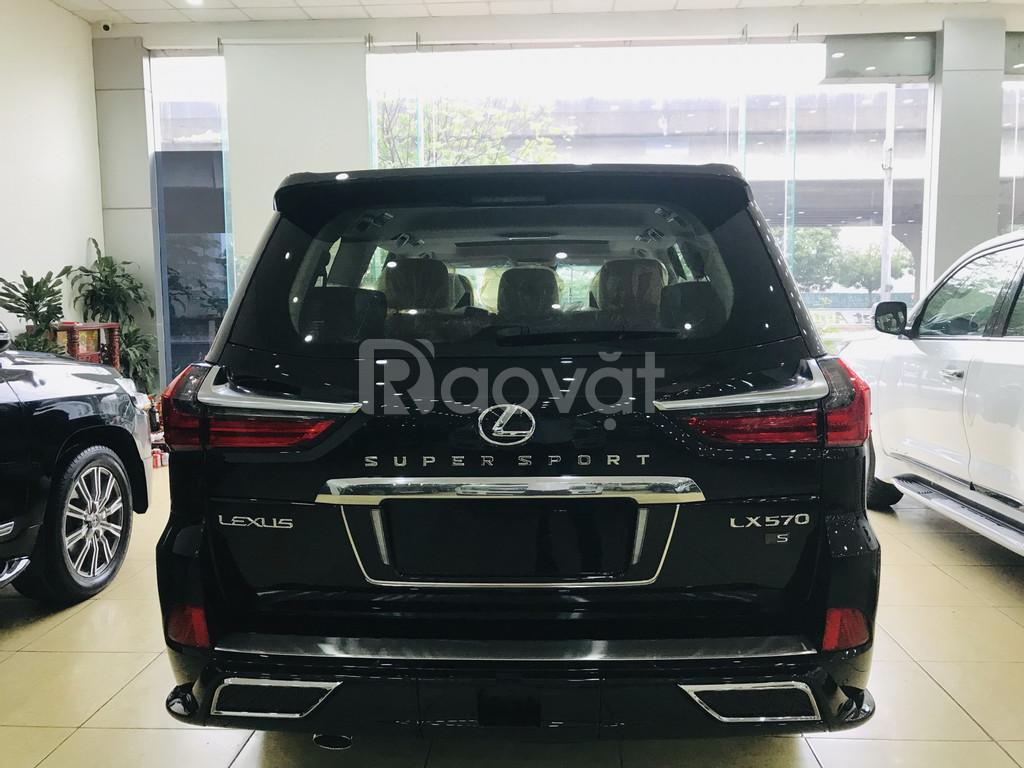Bán Lexus LX570 Super Sport màu đen, sản xuất 2019 xe giao ngay