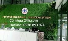Cỏ nhân tạo, cỏ trang trí giá rẻ tại Hải Phòng