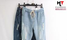Cửa hàng quần áo bigsize HT-Fashion Shop - Quần baggy jean bigsize