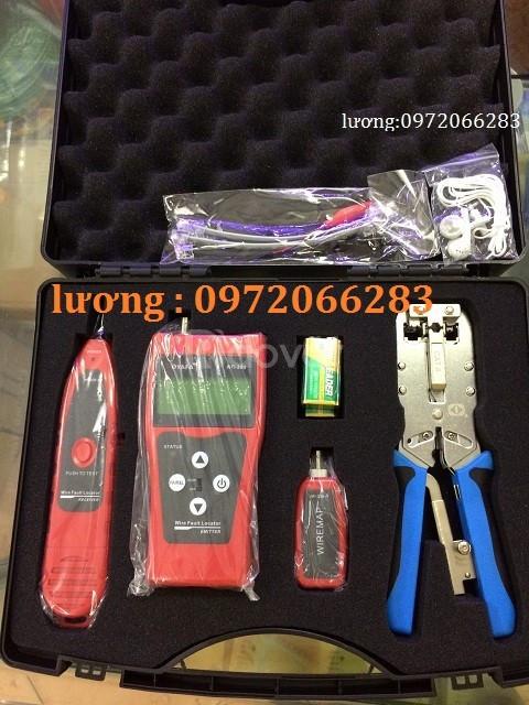Bộ dụng cụ làm mạng Te-302 hãng Te -krone
