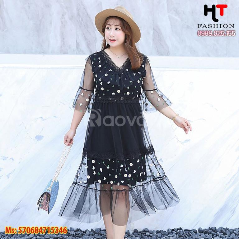 Cửa hàng quần áo bigsize HT-Fashion Shop - Đầm dự tiệc bigsize