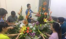 Học cắm hoa mở shop